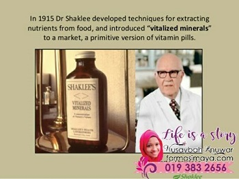 multivitamin-shaklee