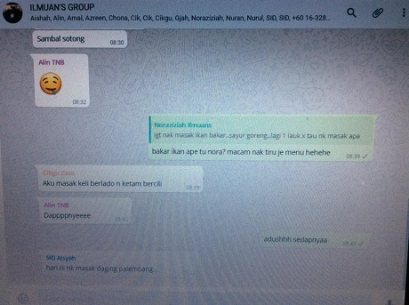 setting whatsApp di PC step 9